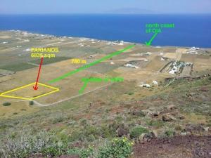 Земельный участок 6835 m² Киклады