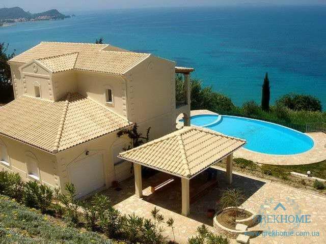 Дом в остров Ханья на берегу моря не дорого