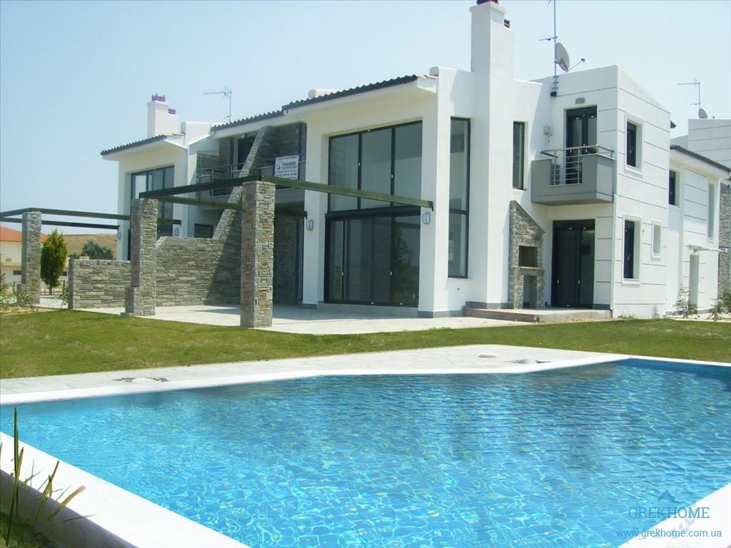 Новые дома в остров Халкидики недорого