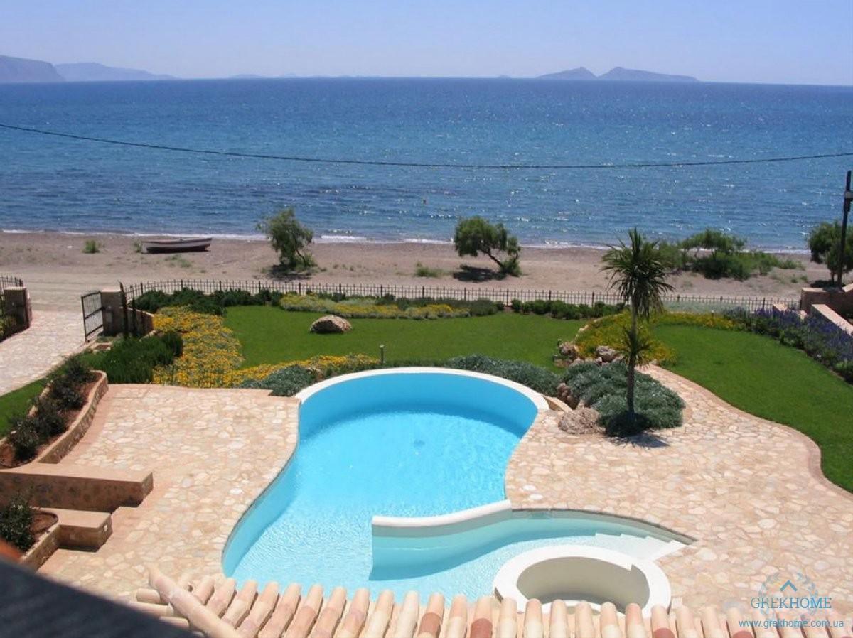 Купить виллу в греции у моря