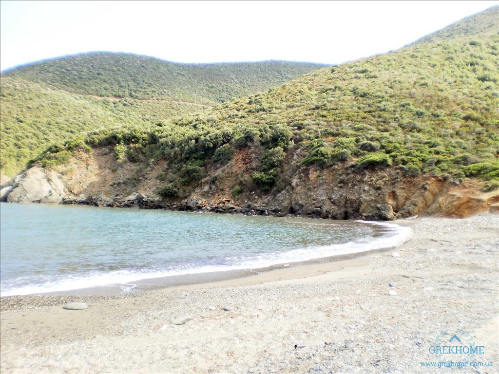 Участок в остров Халкидики на берегу моря недорого
